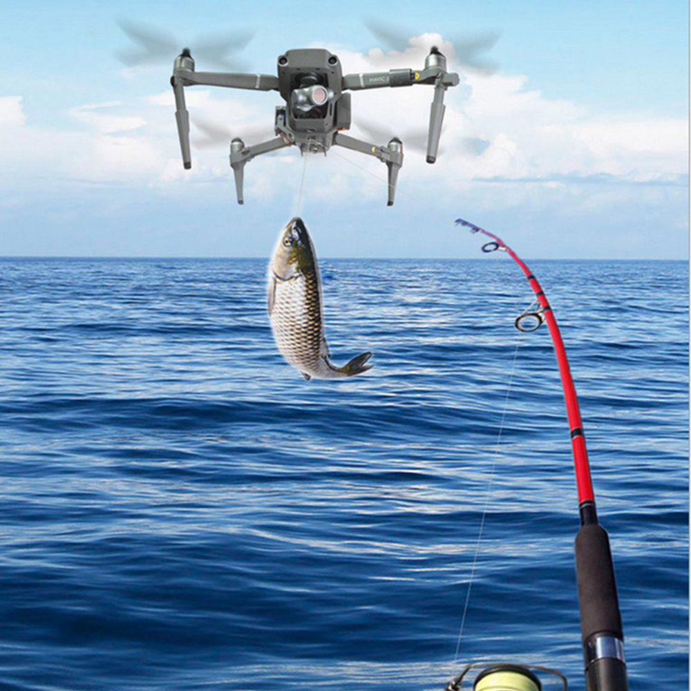 Airdrop Air Drop System For DJI Mavic 2 Pro Zoom Drone Fishing Shinkichon Pelter Fish Bait Advertising Ring Thrower Dropper