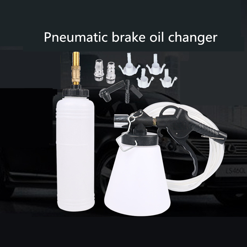 Car Brake Pump Oil Bleeder Clutch Emptying Fluid Exchang     Vehicle Motor Auto Vacuum Evacuation Brake Fluid Fill Machine Equip