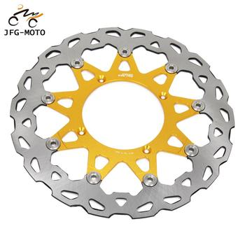 Motorcycle 320MM CNC Front Floating Brake Disc For SUZUKI RMZ250 2007-2015 RMZ450 2005-2015 RMX450 2010 2011 2012 Dirt Bike