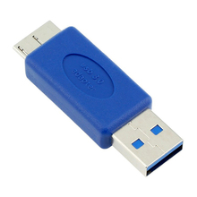 표준 USB 3.0 유형 A 남성 USB 3.0 마이크로 B 남성 플러그 커넥터 어댑터 USB3.0 변환기 어댑터 AM to MicroB