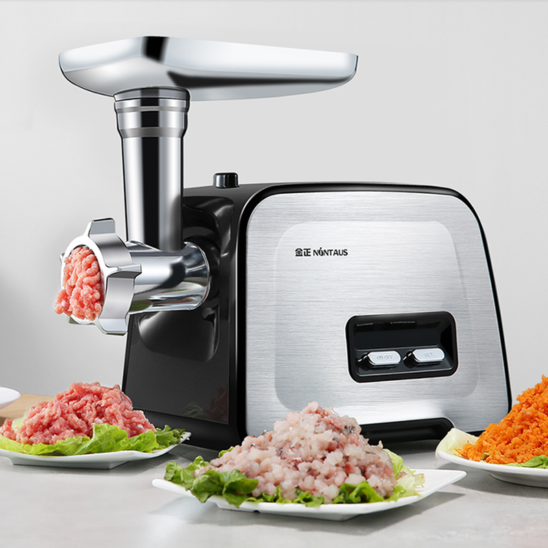Electric Meat Grinder Household Small Stainless Steel Multi-function Mixing Mince Filling Machine Automatic Commercial Enema 1