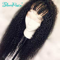 Sassy Curly Human Hair Wigs Malaysia Remy Hair 13x4 Lace Front Human Hair Wigs With Baby Hair Bleached Knots Slove Rosa