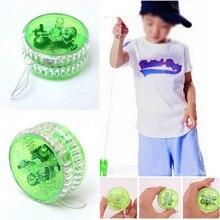 Yoyo светильник механизм сцепления игрушка yoyo трюк скоростной шар детская игрушка