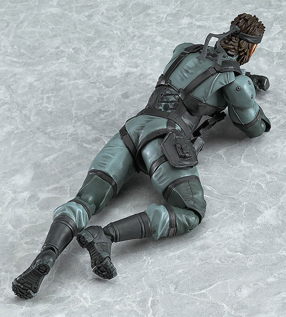 Figma 243 METAL GEAR SOLID 2: SONS OF LIBERTY 15cm Snake PVC Action Figure Collectible Model Toy 5