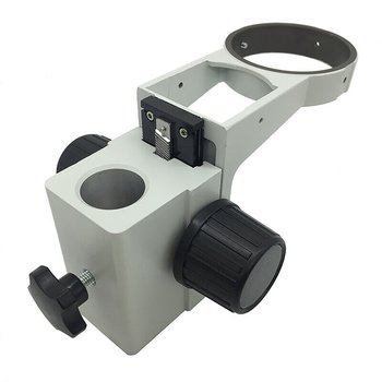 1 sztuk mikroskop stereo uchwyt średnicy 76mm koncentrując uchwyt z ogonem mikroskop koncentrując się uchwyt tanie i dobre opinie OUTAD 25mm 32mm(optional) with Tail Microscope Focusing Bracket null 50mm 155mm (center of the column hole to the center of the mirror hole)