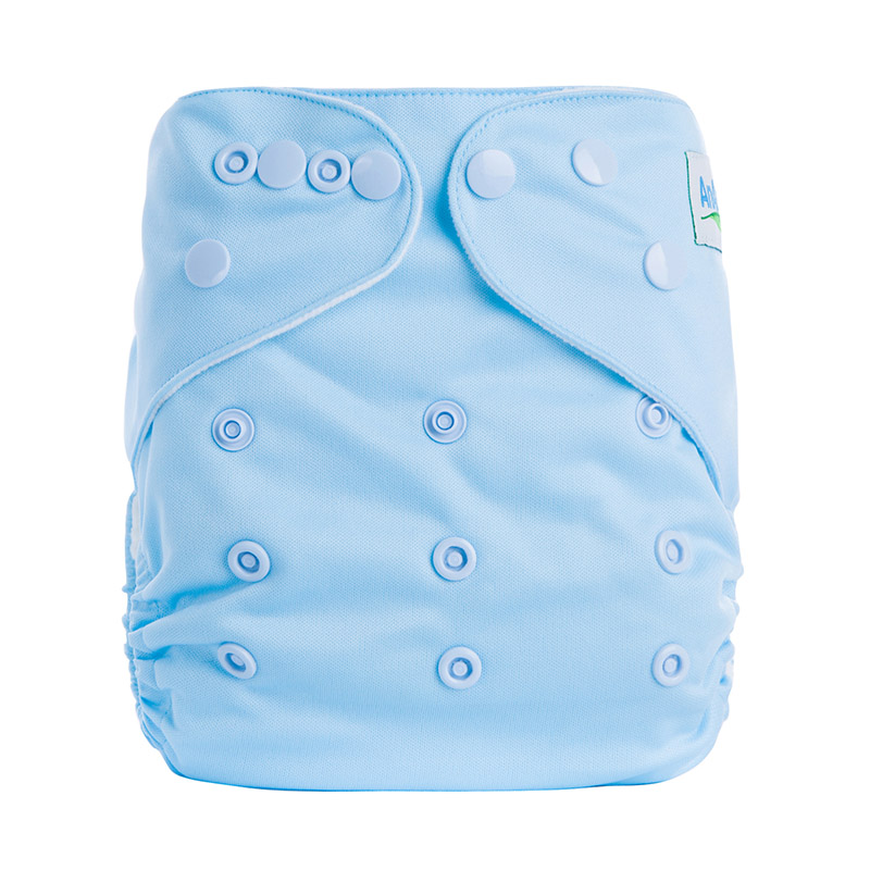 Cloth Nappies Cotton Organic Baby Terry Cloth Diapers Without Microfiber Insert One Size Fit All For Diapers B6