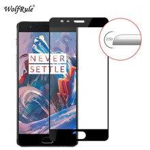 2 szt. Do ekranu OnePlus 3T szkło ochronne szkło hartowane do Oneplus 3T 2.5D pełne pokrycie szkło anty brust Oneplus 3/3t Film