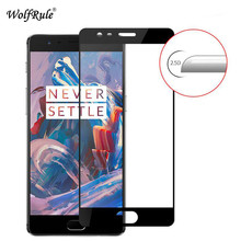 2pcs For OnePlus 3T Screen Protector Glass Tempered Glass sFor Oneplus 3T 2.5D Full Coverage Anti Brust Glass Oneplus 3/3t Film