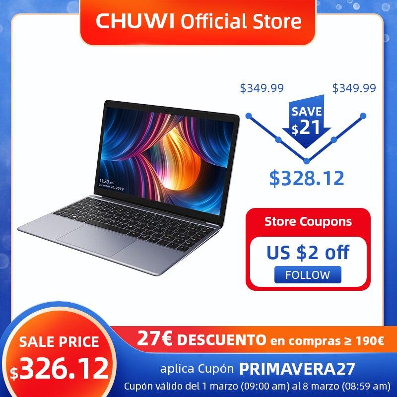 CHUWI HeroBook Pro 14,1 Inch 1920*1080 IPS Bildschirm Intel Celeron N4000 Prozessor DDR4 8GB 256GB SSD windows 10 Laptop