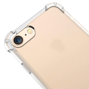 Image 3 - Ronican Telefoon Case Voor Iphone 7 8 Plus Transparante Anti Klop Gevallen Voor Iphone X 8 7 6 6S 5 5S Plus Soft Tpu Silicone Cover