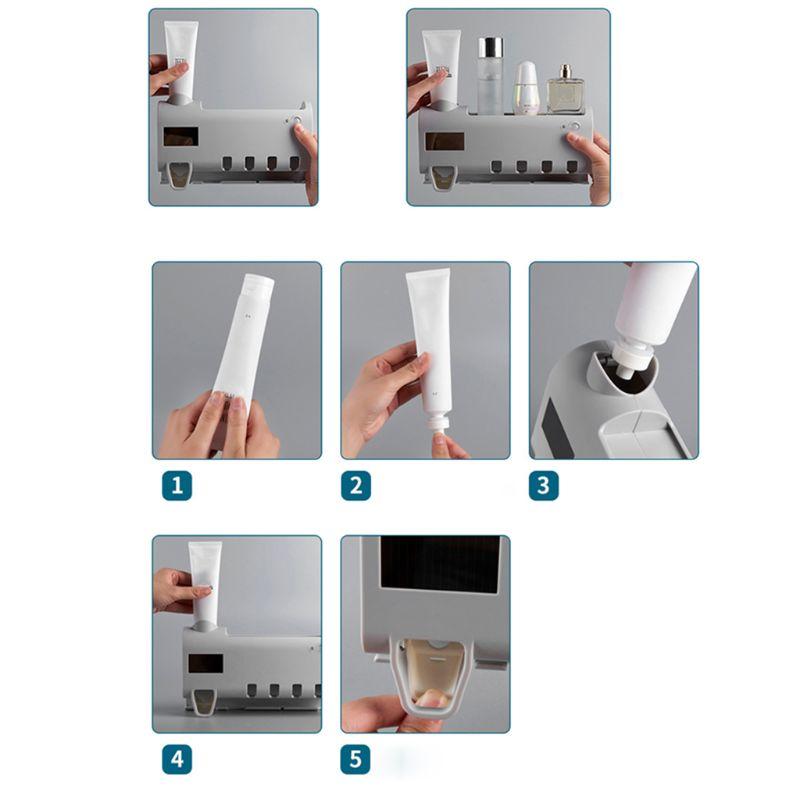 Higienizador de escova de dentes