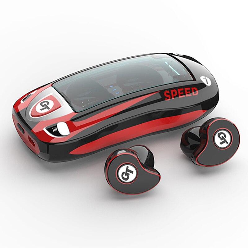 Auriculares TWS Bluetooth V5.0, auriculares inalámbricos, a prueba de agua IPX5, Auriculares deportivos estéreo 6D con cancelación de ruido para teléfono inteligente|Auriculares y audífonos|   - AliExpress