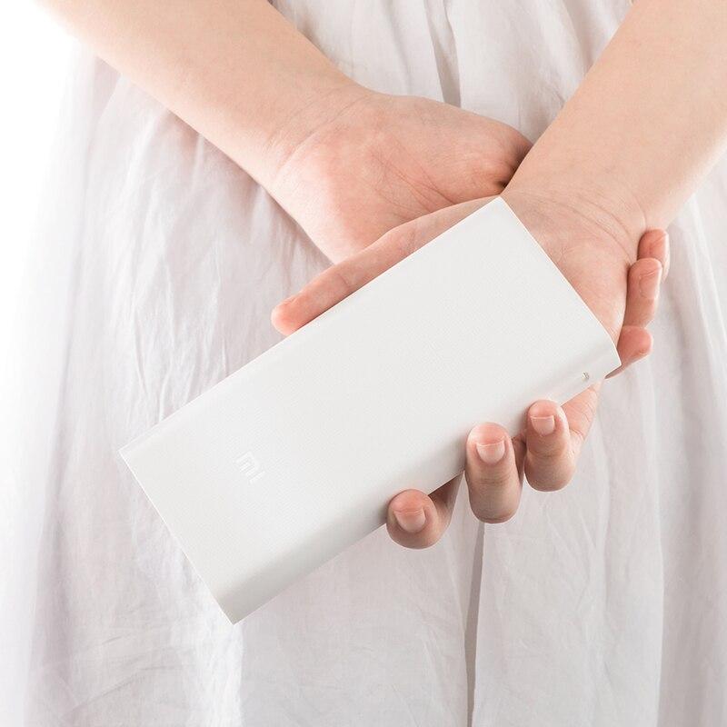 Originale batterie externe de Xiaomi 20000mAh Chargeur Portable pour iPhone Xiaomi Batterie Externe Support Double USB QC 3.0 Powerbank 20000 - 4