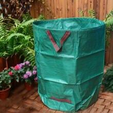 Вместительный садовый мешочек многоразовый складной контейнер