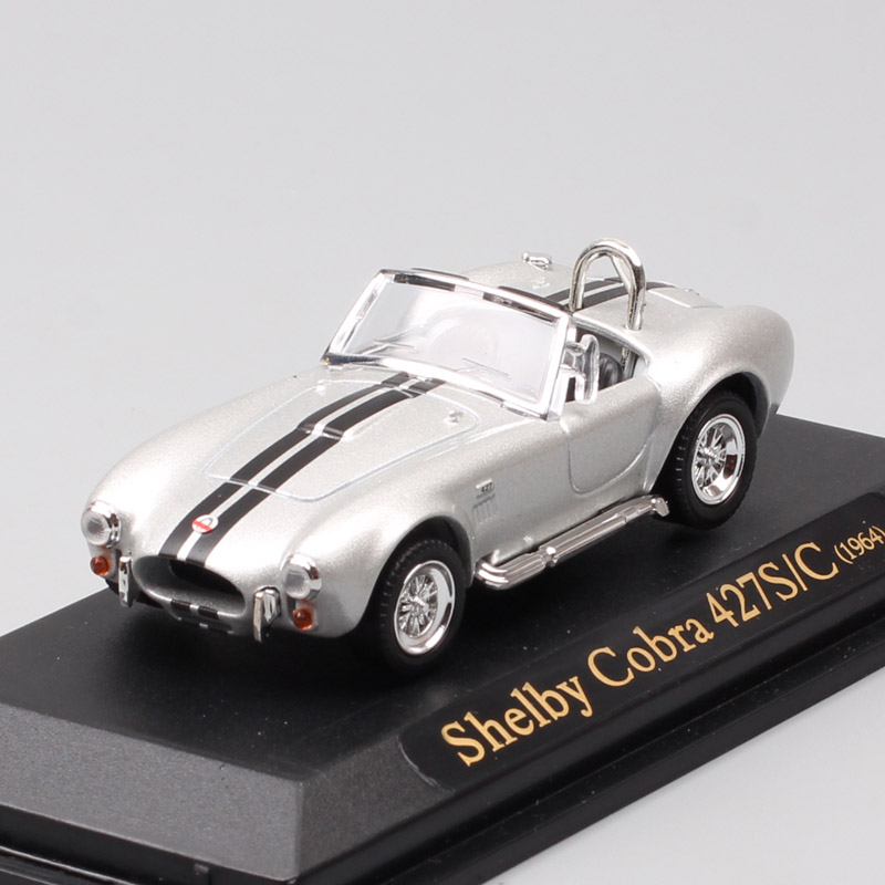 1/43 Scale Yat Ming Classics 1964 Ford SHELBY COBRA 427 S/C Diecast Vehicle Car Model AC Cobra Miniatures Toy Of Kids Collection