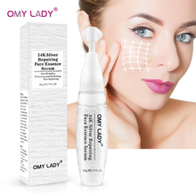 OMY LADY 24K Silver Collagen Serum Whitening Foil Essence Anti Wrinkle Anti-Aging acne scar removal shrink pores