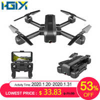 Hgiyi sg706 rc zangão 4 k hd câmera dupla 50x vezes zoom wifi fpv dobrável quadcopter helicóptero drones profissional altura estável