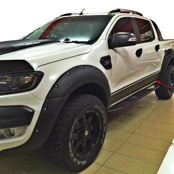 Envío Gratis pegatinas de diseño de coche para Ford Ranger, marca wiltrack, izquierda y derecha, lateral para carrocería, puerta a rayas, cintura