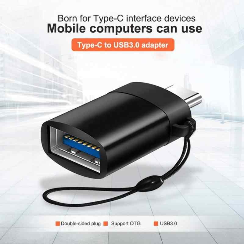 Tipe-C untuk USB3.0 Adaptor Android Kabel Data Ponsel OTG untuk MacBook/HUAWEI/Xiaomi/Samsung /U Disk/Keyboard/Mouse SD