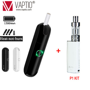 Image 1 - 【Buy 1 get 2 】Original Vaptio Imate Dry Herb Vaporizer Kit 1500mAh Electronic Cigarette Heating Tobacco Smokable With iQO Stick