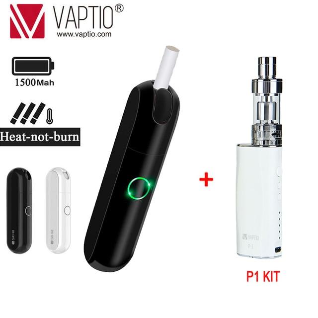 【Buy 1 get 2 】Original Vaptio Imate Dry Herb Vaporizer Kit 1500mAh Electronic Cigarette Heating Tobacco Smokable With iQO Stick