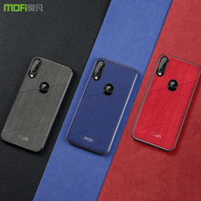 For Redmi Note 7 case cover MOFI Xiaomi note pro global Liquid Silicone Stripe Case redmi 7Pro Back Cover