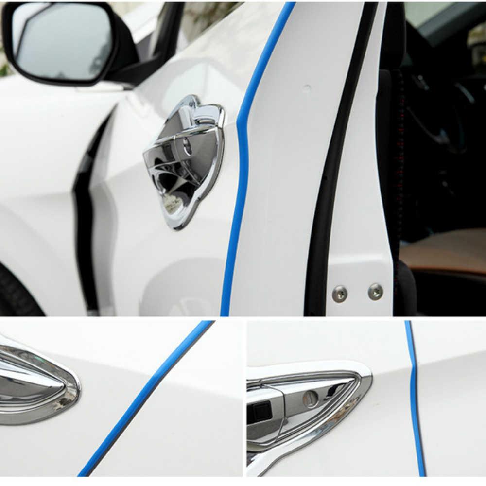 Bord de porte de voiture caoutchouc protection anti-rayures bande de moulage pour kia toyota chr camry corolla 2008 rav4 yaris avensis t25 hilux auris