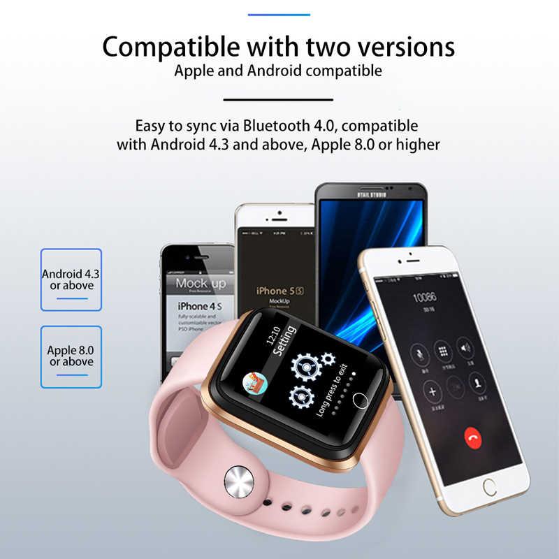 LIGE 2020 جديد إمرأة ساعة ذكية مقاوم للماء جهاز تعقب للياقة البدنية مراقب معدل ضربات القلب عداد الخطى ساعة رياضية ل أندرويد ios smartwatch