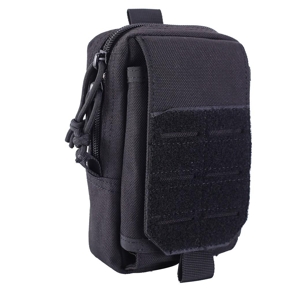 1000D Molle poche tactique taille ceinture sac militaire EDC Pack chasse coque de téléphone Airsoft accessoire poche en plein air Fanny Pack