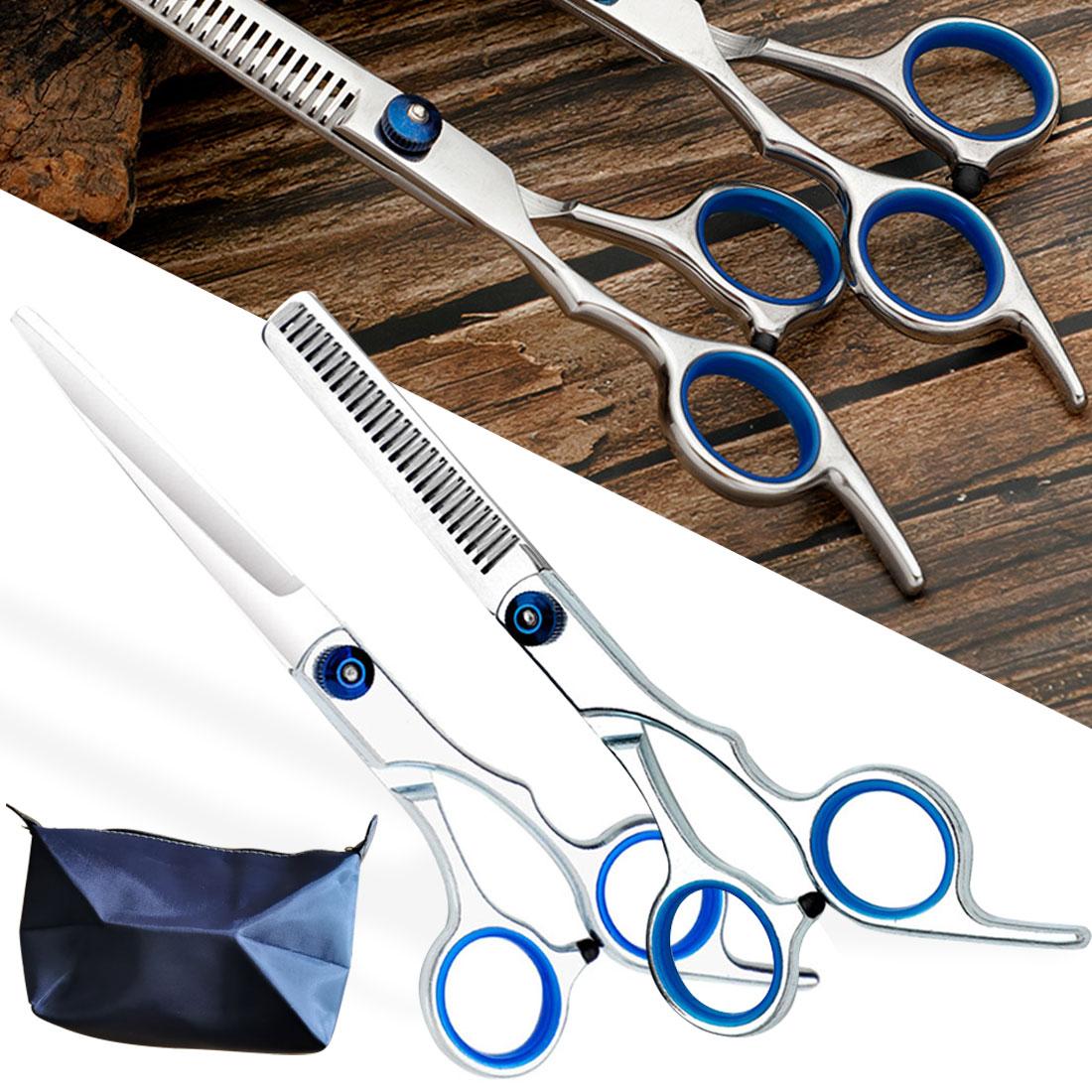 Парикмахерские ножницы из нержавеющей стали, профессиональные для стрижки и филировки волос, инструмент для парикмахерской