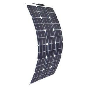 Image 2 - ערכת פנל סולארי 200w 100w 18v גמיש פנלים סולאריים מודול 20A בקר עבור חניך קרוון סירת רכב סוללה 12v אנרגיה chargin
