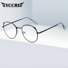 Glasses YCCRI Sight Women New Near Student Cat-Ear Range-1.0 To-6.0 Degree New-Fashion