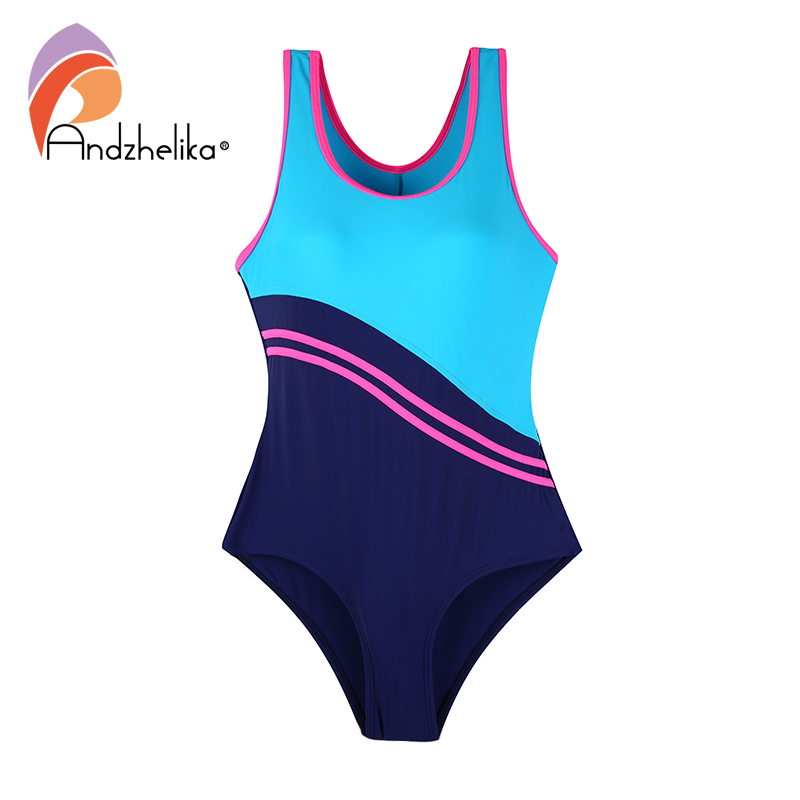 Andzhelika Children's One-Piece Suits Swims New Sport Children Swimsuit Girls Bodysuit Bathing Suit Kid Beach Monokini