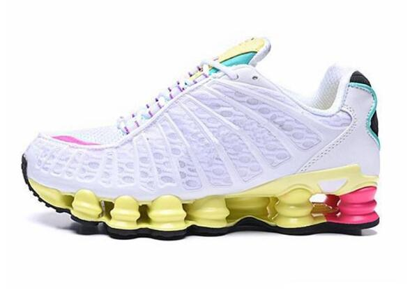 NEW Shox TL R4  Running Shoes Metallic Black White WMNS Women Sneakers Retro Sunrise Sports Trainers AV3595-004 CJ0546-001