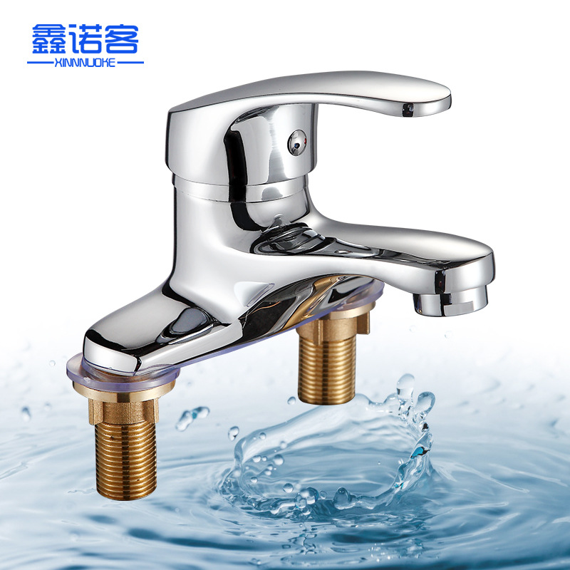 Copper Single Handle Single Hole Hot And Cold Mixing Faucet Bivalent Tap Lift Bathroom Cabinet Basin Faucet
