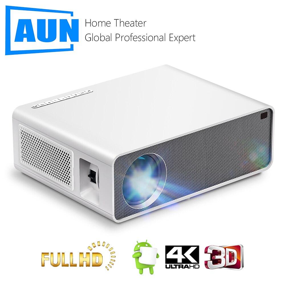 AKEY7 MAX проектор AUN Full HD 1080P 7500 люмен Videoprojecteur светодиодный проектор для домашнего мобильный телефон Поддержка 4K видео проектор