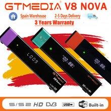 Venda quente gtmedia v8x decodificador novo atualizado mesmo que gtmedia v8 nova v7 s2x DVB-S2 h.256 wifi gtmedia v8 honra v9 super nenhum aplicativo