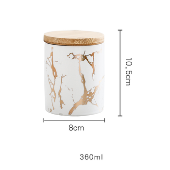 Round Sealed Tea Caddy Ceramic Storage Jar For Spices Tea Coffee Can For Kitchen Organizer Tank Food Container Bottle With Lid 10