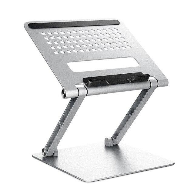 Có Thể Điều Chỉnh Giá Đỡ Laptop Gấp Gọn Giá Đỡ Cho MacBook Air Mac Book Pro 2020 13 16 iPad 11 12.9 Máy Tính Xách Tay Máy Tính Bảng phụ Kiện