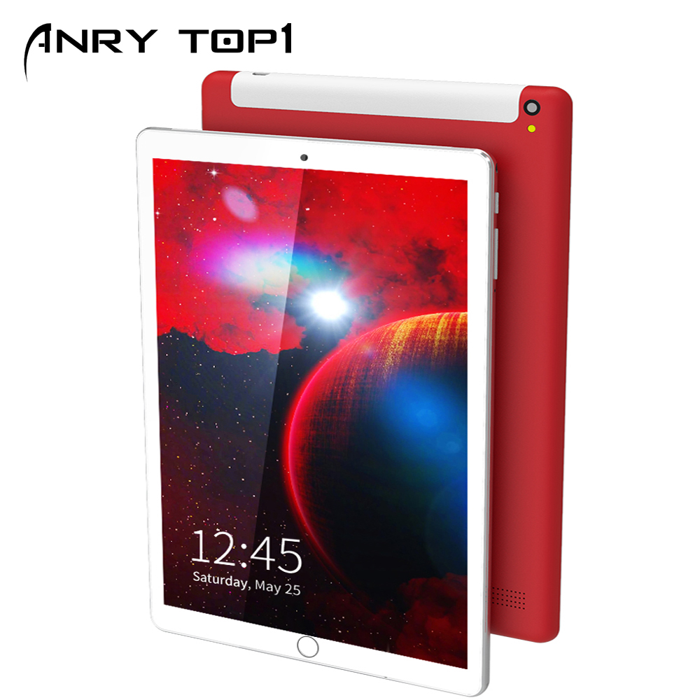 ANRY 3G Phone Call Tablet MTK6582 Quad Core Android Tablets 4GB RAM 32GB ROM 10.1 Inch 1280x800 Display PC Tab Dual SIM