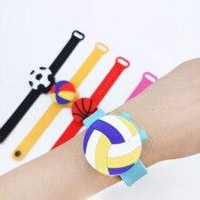 Bracelet Soap-Dispenser Wristband Hand-Sanitizer-Holder Portable Travel Kids Cartoon
