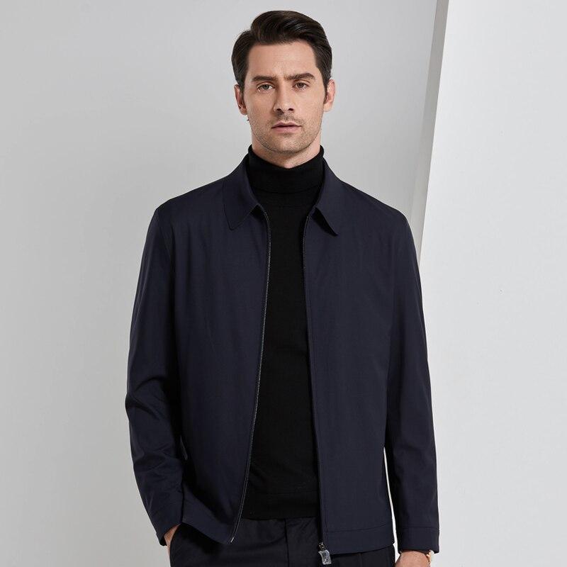 2019 4XL весна осень повседневный мужской жакет Мужская куртка ветровка пальто Мужская s куртка Брендовые мужские костюмы - 2