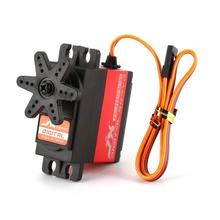 JX PDI-6221MG-180 20.32kg 180°Steering Digital Metal Gear Core Servo with High Torque for RC 1/10 1/8 RC Car Boat DIY 1pcs digital servoless retract with metal block quad retractable landing gear pz 15091m for rc airpalne