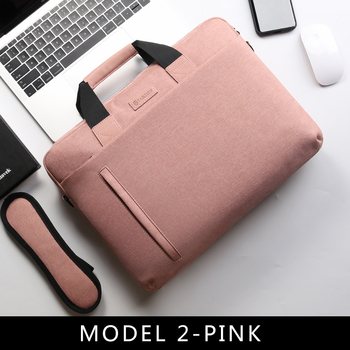 Laptop Bag case 13.3 14 15.6 17.3 Inch Waterproof Notebook Bag for Macbook Air Pro 13 15 Computer Shoulder Handbag Briefcase Bag 7