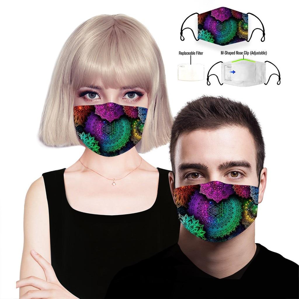 H9aae1a4a6cd24cc9be5dd02edb85c18aq adult facemask flower print adjustable cotton maske mondkapje maska tapabocas dropshipping