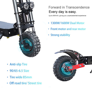 60V3200W Electric Scooter 11 inch Motor Wheel 20AH Lithium Battery Adult kick e scooter No tax folding patinete electrico adulto