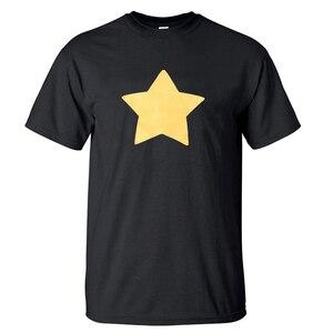 Hot Sale STEVEN UNIVERSE STAR T-Shirts 2018 Summer New Arrival Men T Shirts 100% Cotton High Quality Short Sleeve O-Neck T-Shirt(China)