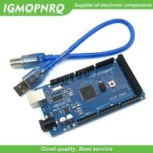 10pcs MEGA 2560 R3 ATmega2560 AVR USB board +free USB cable (ATMEGA2560 /CH340 ) funduino 2560 new