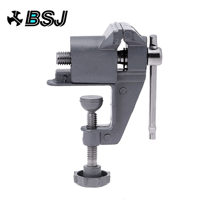 Universal Mini Bench Vise Table Screw Aluminium Alloy 30mm Clamp for DIY Craft Mold Fixed Repair Tool