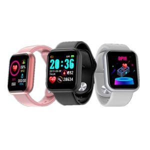 Image 5 - อัพเกรดใหม่ Y68กีฬา Smart Watch สร้อยข้อมือสมาร์ทความดันโลหิต Heart Rate Monitor สำหรับ Android IOS ผ่านมาตรฐานการจัดส่ง